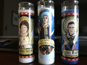 Pop Culture Folk Saint Candles